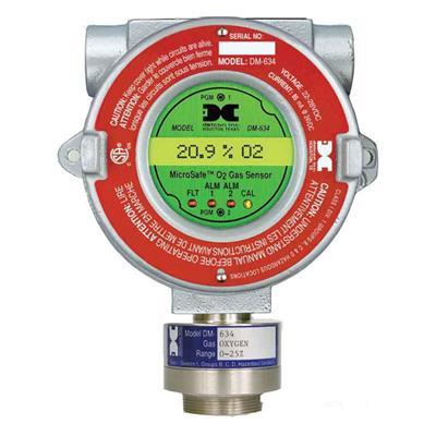电化学氧气检测仪传感器探测器DM-634