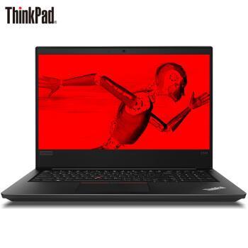 ThinkPad 联想 E585 15.6英寸商务办公手提笔记本轻薄便携学生电脑 R5-2500U丨4G内存 500G硬盘丨MCD 正版Office丨Win10