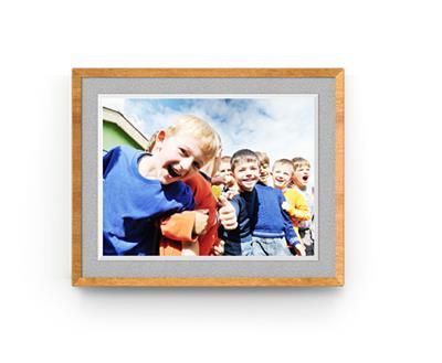 BOE京东方画屏 M2 9.7英寸琥珀柚 拾光机 超薄自动播放超清电子数码云相册电纸相框 高端创意礼物款