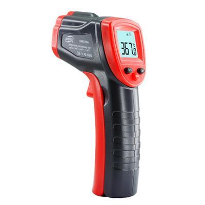 标智高精度工业用红外线测温仪水温枪厨房烘焙油温计油炸商用检测