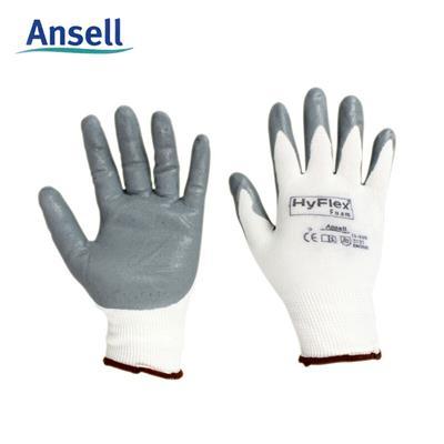 安思尔 /Ansell 11-800 发泡丁腈涂掌手套航空级舒适贴合装配手套精密操作浸胶 9码 12副装